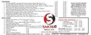 smoke bbq cafe enfield ct